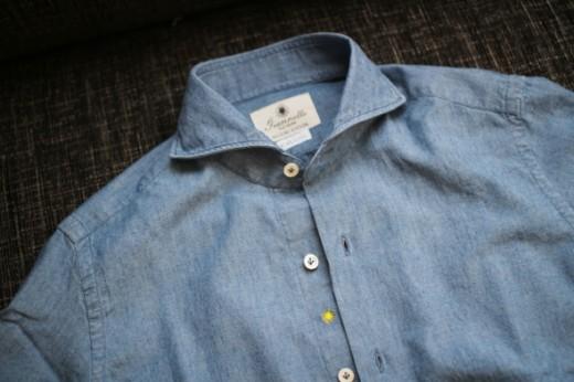 ジャンネットのシャンブレーシャツ