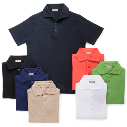 クルチアーニのポロシャツ