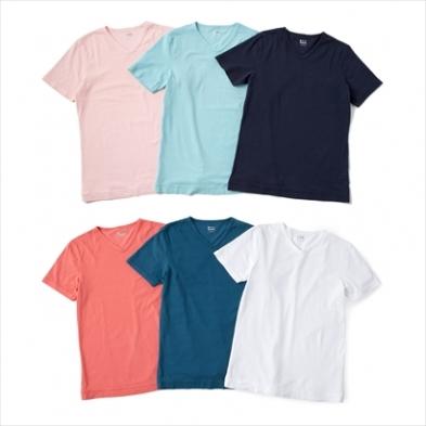 スリードッツのカラーTシャツ
